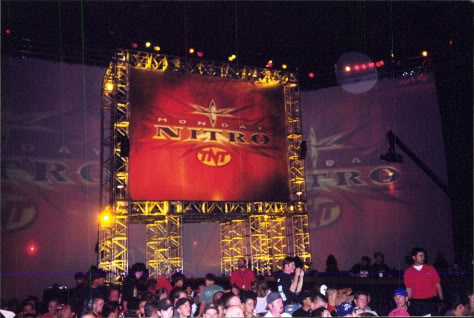 the greatest royal rumble titantronstage set wrestling