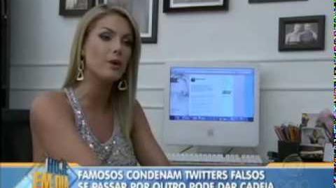 Fraude no Twitter - Hoje Em Dia