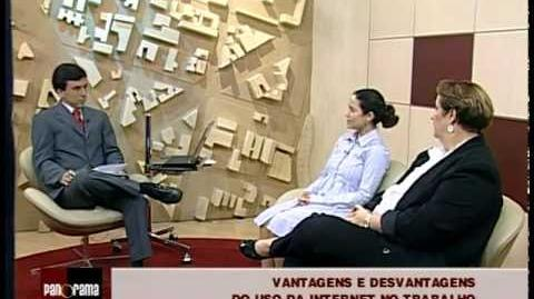 Entrevista TV ALMG Política Segurança da Informação p regulamentar redes sociais na empresa