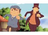 Layton y Luke Corriendo