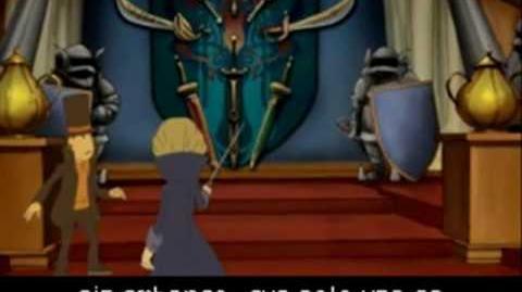 Profesor Layton y la caja de Pandora. Layton vs Anthony (en español).