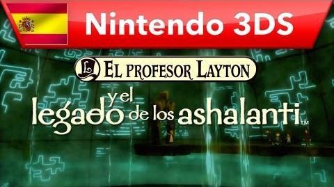 El profesor Layton y el legado de los ashalanti - Tráiler oficial