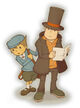 ArtWork de Layton y Luke