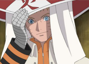 Naruto jako Hokage