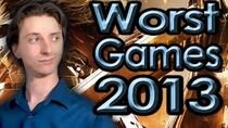 TopTenWorstGamesOf2013