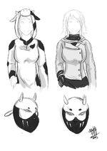Niyu mask outfit