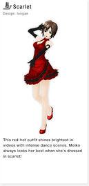 ProjectDivaF2nd Scarlet