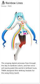ProjectDivaF2nd RainbowLines