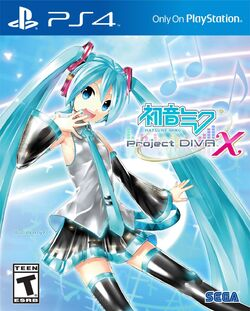 Hatsune Miku Project DIVA X (PS4) NA box art