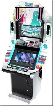Arcade Future Tone cabinet