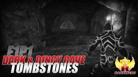 Project Gorgon Pre-Alpha Gameplay E1P1 Dark & Dingy Cave ★ Tombstones