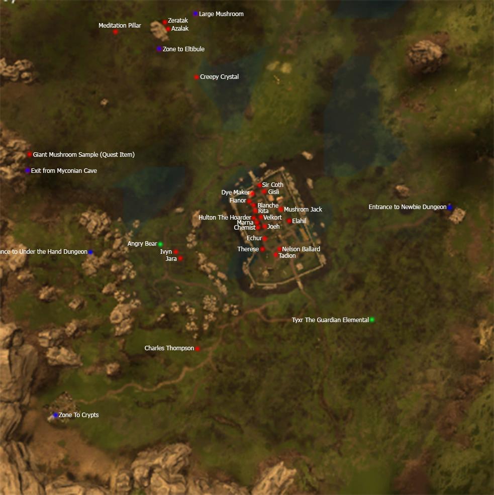 Zones | Project Gorgon Wiki | FANDOM powered by Wikia