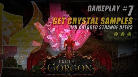 Project Gorgon Pre-Alpha Gameplay 7 ★ Get Crystal Samples ★ Red Colored Strange Deers