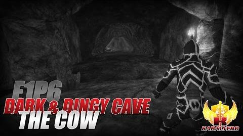 Project Gorgon Pre-Alpha Gameplay E1P6 Dark & Dingy Cave ★ The Cow