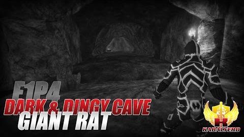 Project Gorgon Pre-Alpha Gameplay E1P4 Dark & Dingy Cave ★ Giant Rat
