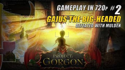 Gajus The Big-Headed Defeated With Mulden » Project Gorgon Alpha Gameplay In 720p 4