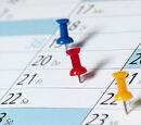 Communications calendar
