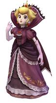 Art del traje alternativo de Peach (Reina de las Sombras)