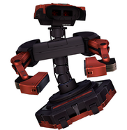 Art del traje alternativo de R.O.B. (Virtual Boy)