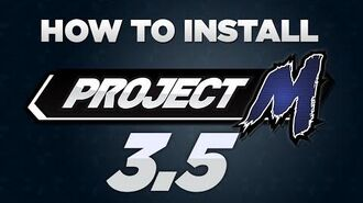 How to Install Project M 3.5