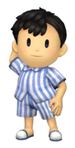 Art del traje alternativo de Ness (pijama)