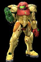 Art del traje alternativo de Samus (traje clásico)