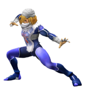 Art del traje alternativo de Sheik (SSBM)