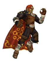 Art del traje alternativo de Ganondorf (SSBM)