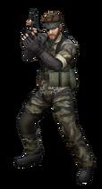 Art del traje alternativo de Snake (Big Boss)