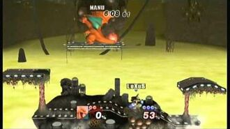 Project M 3.0 - Mewtwo2000 (Charizard) Vs Lexus (Lucario) Brinstar 17 jan 2014