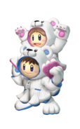 Art del traje alternativo de Ice Climbers (traje de Oso polar)