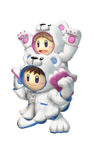 Art del traje alternativo de Ice Climbers (traje de Oso polar)