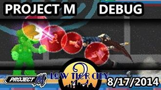 Project M Debug Mode Demonstration
