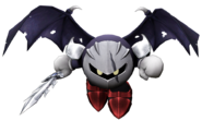 Art del traje alternativo de Meta Knight (Meta Knight oscuro)