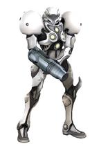 Art del traje alternativo de Samus (traje de luz)