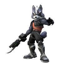 Art del traje alternativo de Wolf (clásico)
