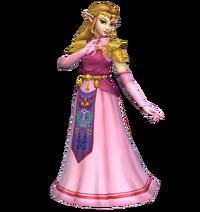 Art del traje alternativo de Zelda (SSBM)