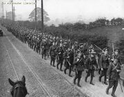 WW1 soldiers Manchester