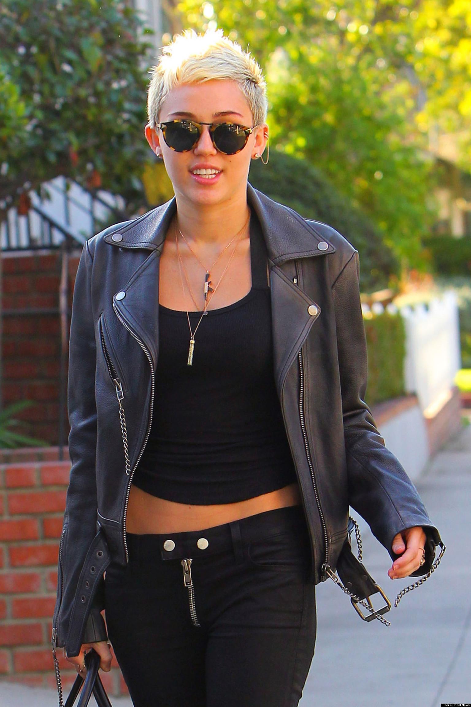 Image O Miley Cyrus Short Hair Facebookg Project Peacock Wiki