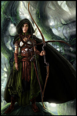 Fairy archer by kk graphics-d4fbr7f