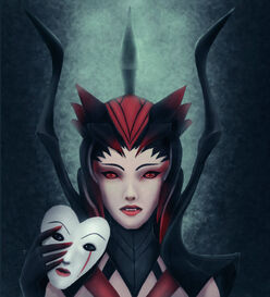 Elise the spider queen by coeur2vache-d5ujubg