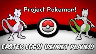 Easter Eggs! Secret Places I Project Pokemon I ROBLOX I
