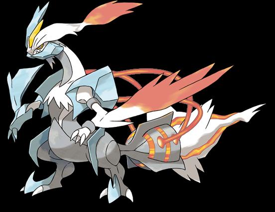 image white kyurem pokemon black version 2 and white version 2
