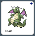 Dragonite Shiny Example