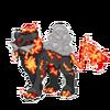 Flamed Raikou