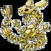 Skeletal Rayquaza