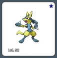 Lucario Shiny Example