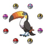 Pokeball Toucannon