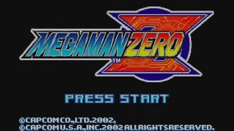 Mega Man Zero - Title Screen & Intro Stage