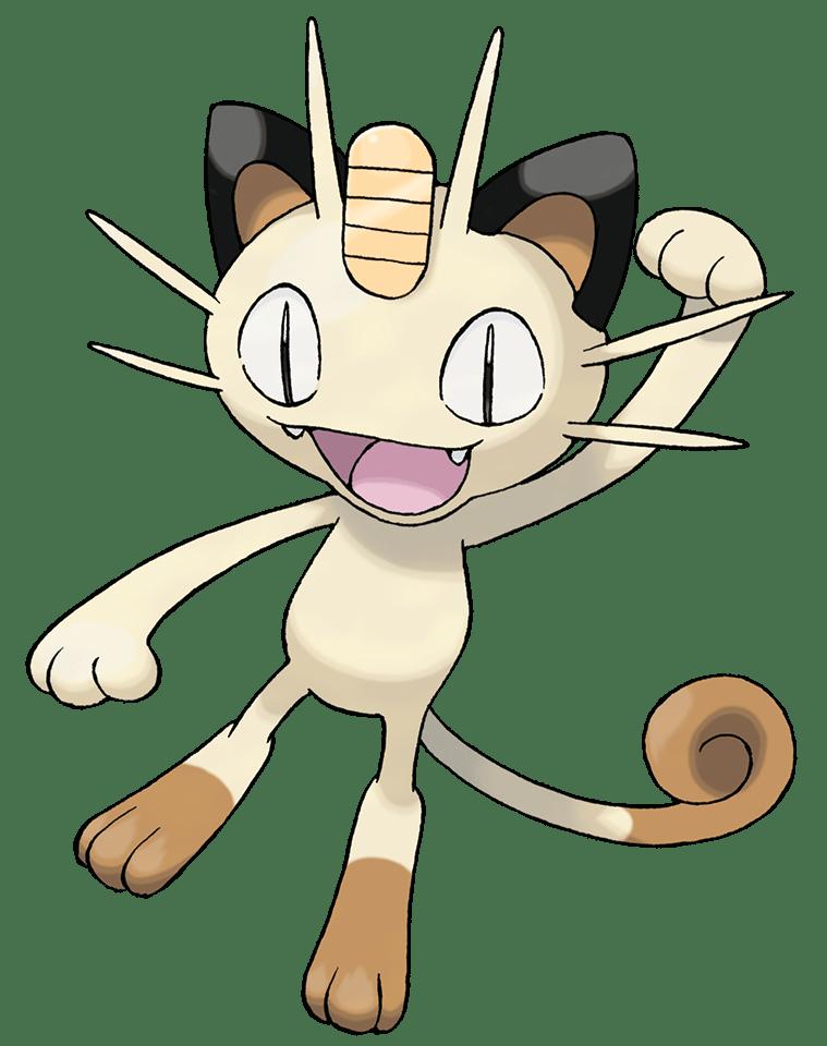Pokémon Meowth 116 116 - Pay Day - My Pokemon Card